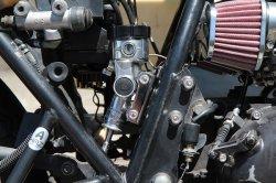 画像4: 【553】リヤマスター取り付け用ブラケット クロムメッキ Z400FX逆車 リヤディスク化