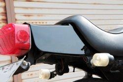 画像3: 【563】 Z400FX テールカウル リプレイス品 ブラック ABS樹脂